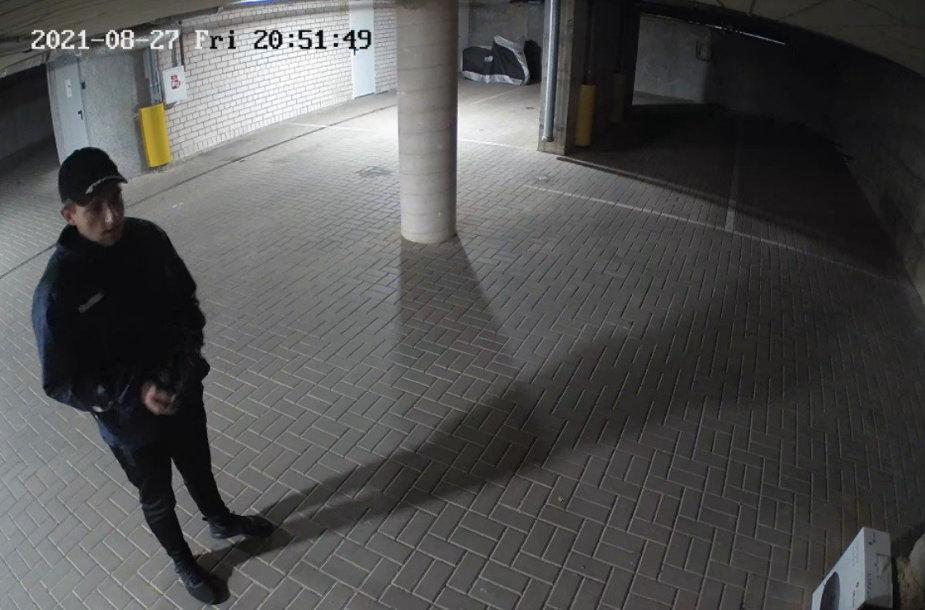 Dviračio vagystė tyrime Kauno policijos ieškomas vyras