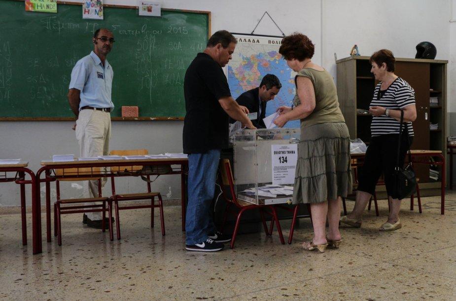 Rinkimai Lesbo saloje