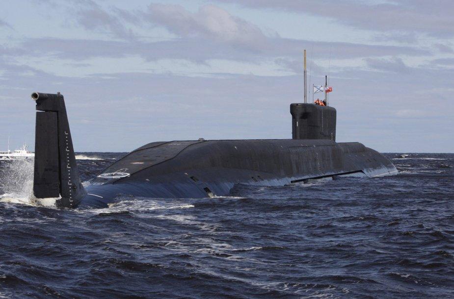 Povandeninis Rusijos laivas