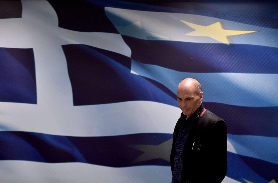 Naujasis Graikijos finansų ministras Janis Varufakis