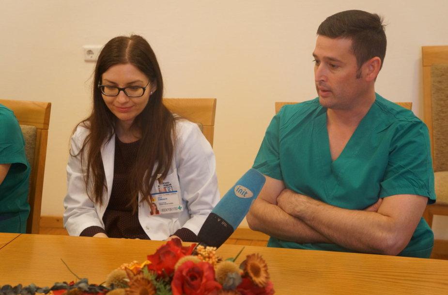 Lietuvoje pirmą kartą per kateterį atlikta mitralinio širdies vožtuvo operacija