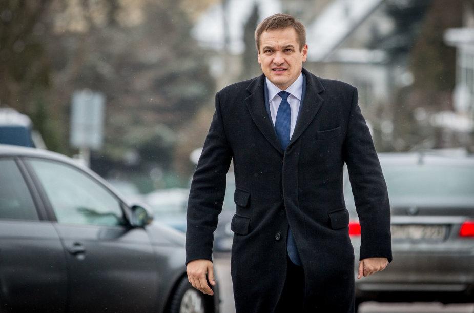 Vidaus reikalų ministras Eimutis Misiūnas