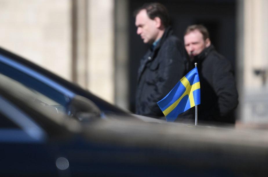 Švedijos vėliava