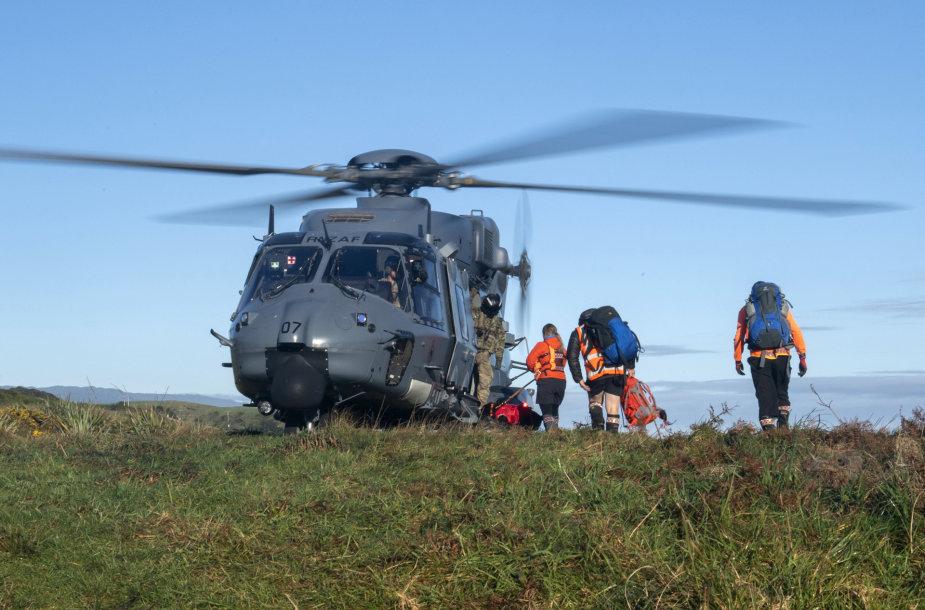 Naujojoje Zelandijoje išgelbėti susižeidę žygeiviai