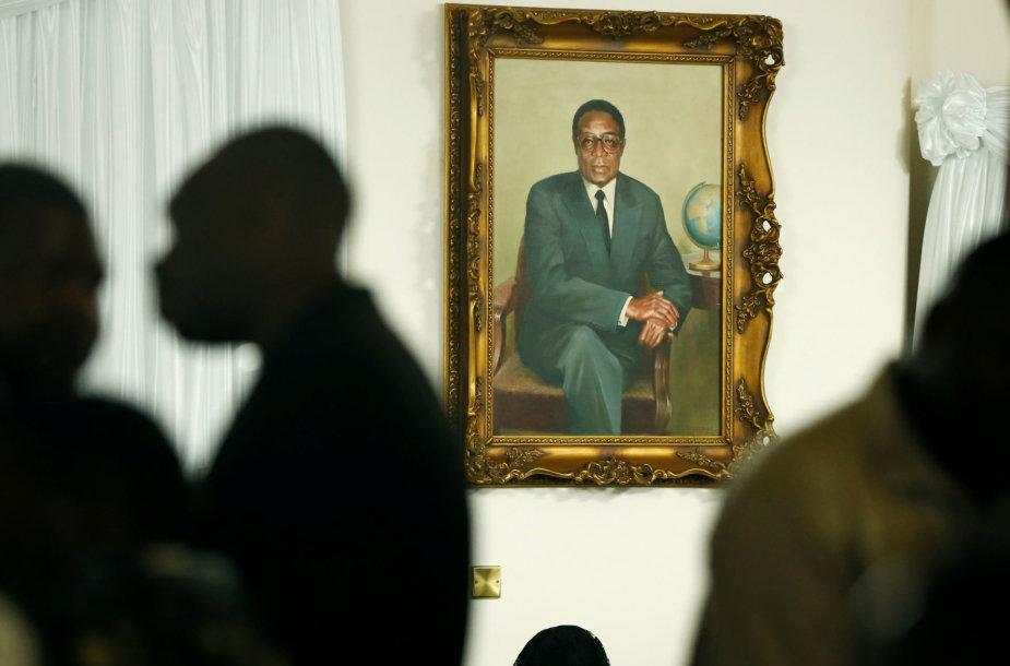 Robertas Mugabės portretas
