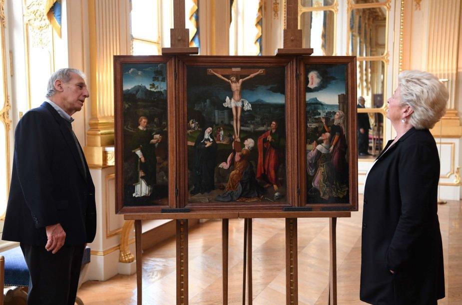 Prancūzija žydų šeimai grąžino nacių pagrobtus meno kūrinius