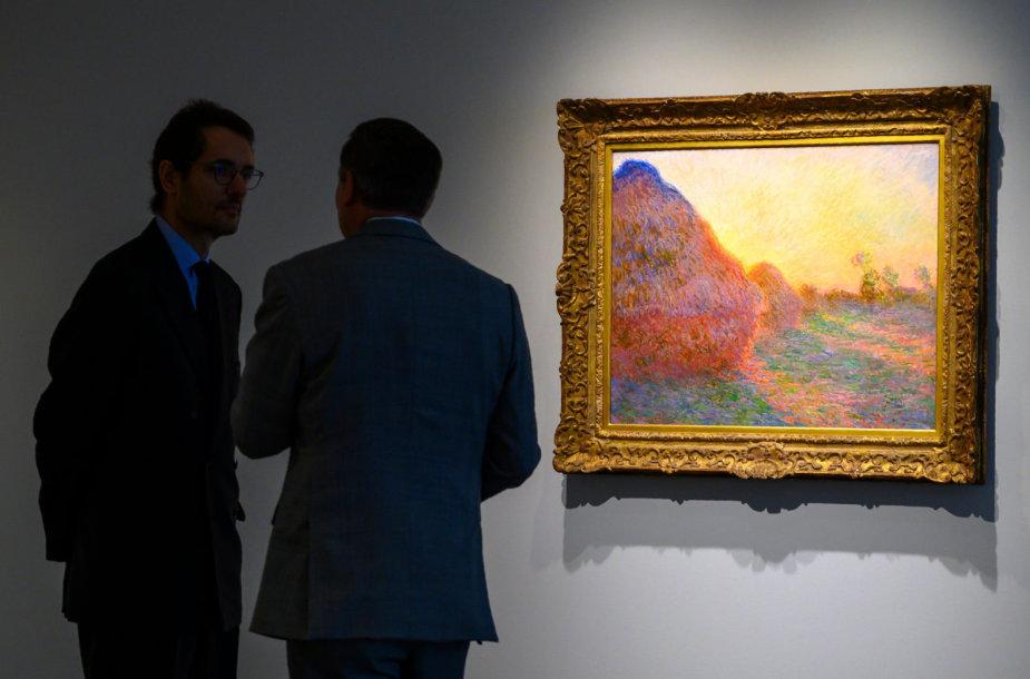 Claude'o Monet paveikslas Niujorko aukcione parduotas už 110,7 mln. dolerių