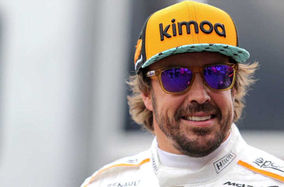 """Fernando Alonso, """"Formulės 1"""" kvalifikacija Belgijos Spa trasoje"""