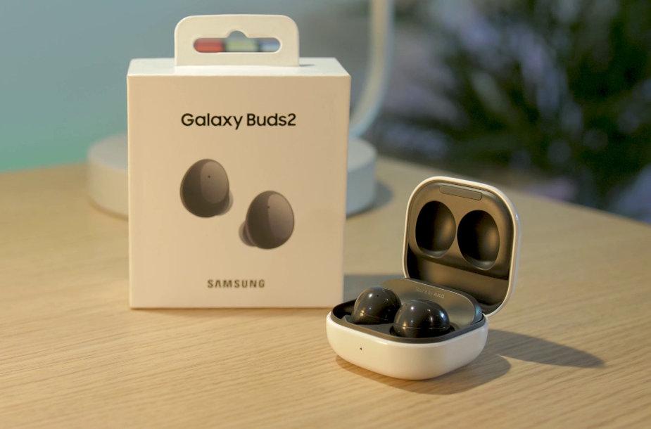"""""""Samsung Galaxy Buds2"""" apžvalga"""
