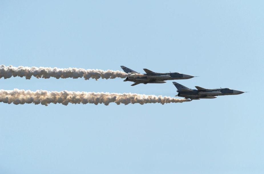 Rusijos naikintuvai Su-24