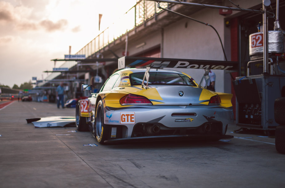 """European Le Mans series"" treniruotės Imoloje"