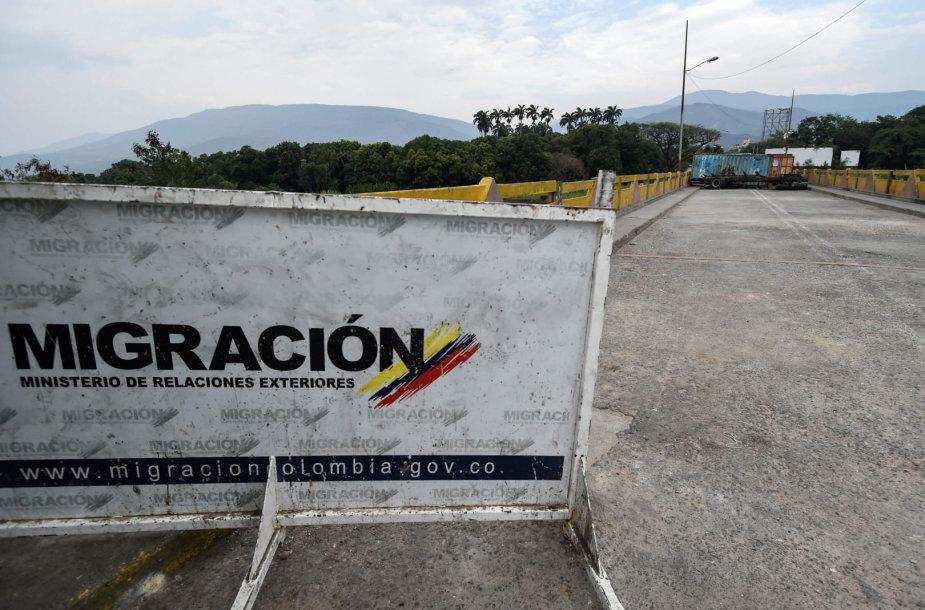 Venesuela nepriima humanitarinės pagalbos iš JAV