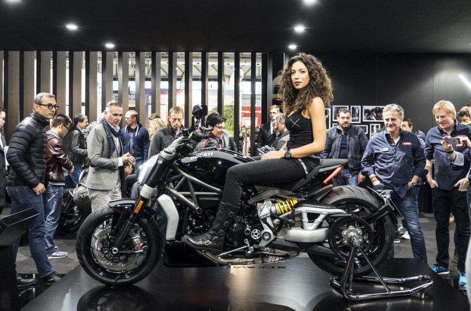 Motociklų paroda Milane EICMA 2015