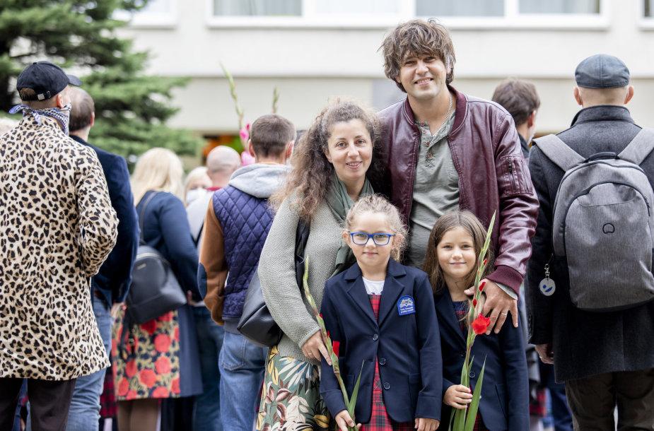 Andriaus Pojavio šeima rugsėjo 1-ąją