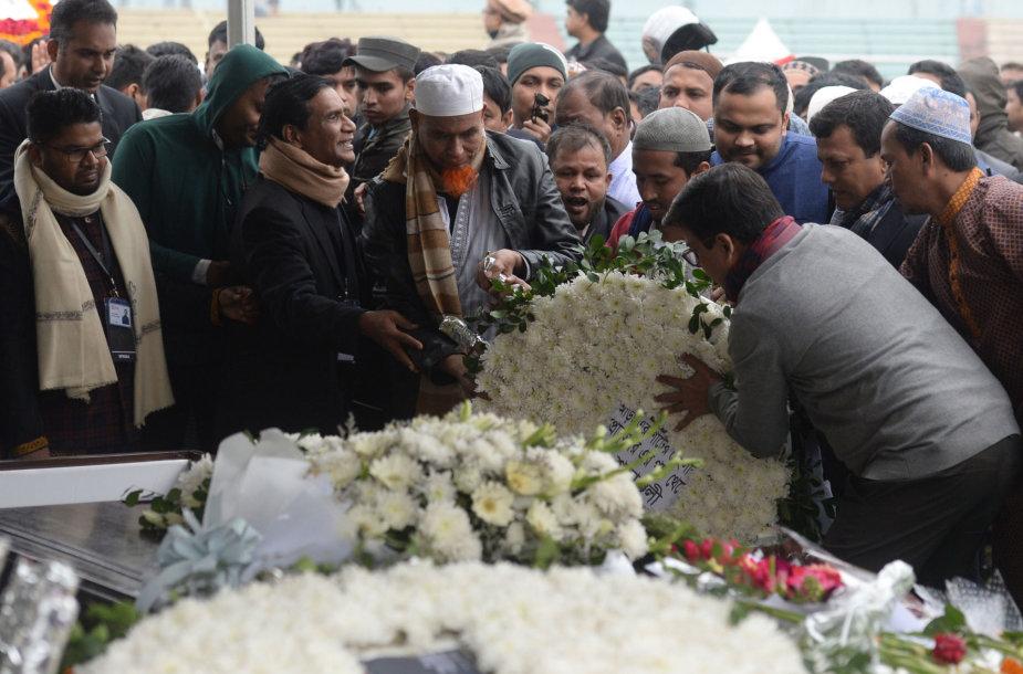 Fazle Hasano Abedo laidotuvės