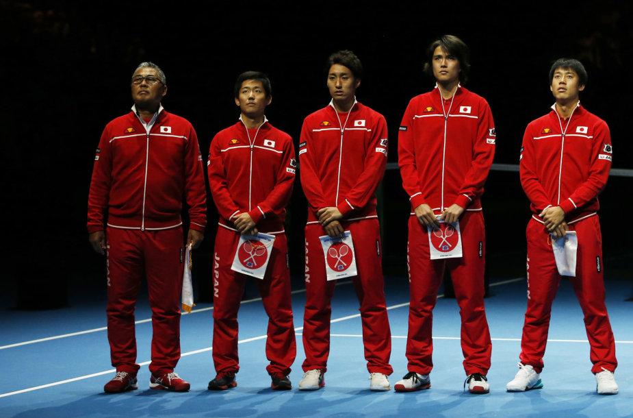 Japonijos teniso rinktinė