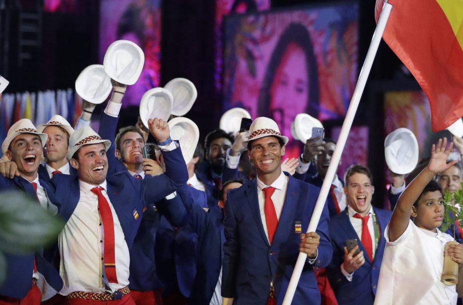Olimpinių žaidynių atidarymo ceremonija
