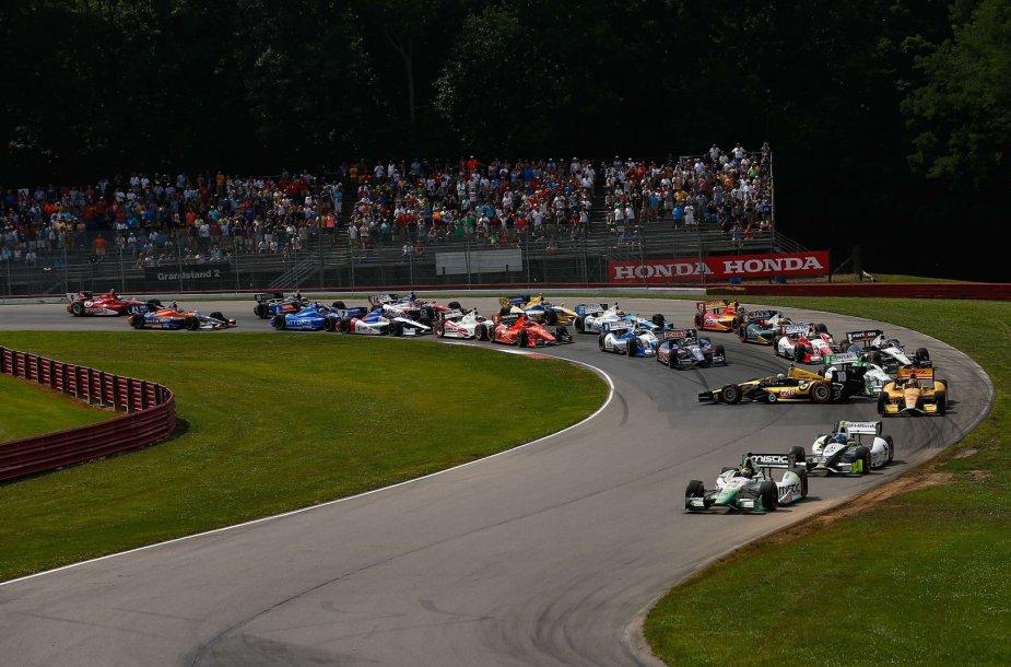 """""""IndyCar"""" lenktynės Milvokyje"""