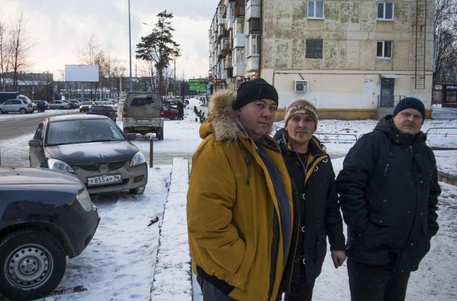 Valerijus Vdovinas, Maksimas Soložninas ir Jevgenijus Soložninas