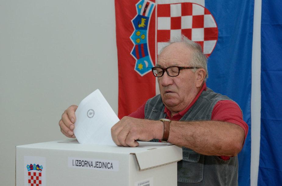 Rinkimai Kroatijoje
