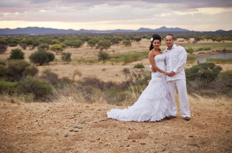 Andriaus Pauliukevičiaus ir Ilkos Adams vestuvės Namibijoje