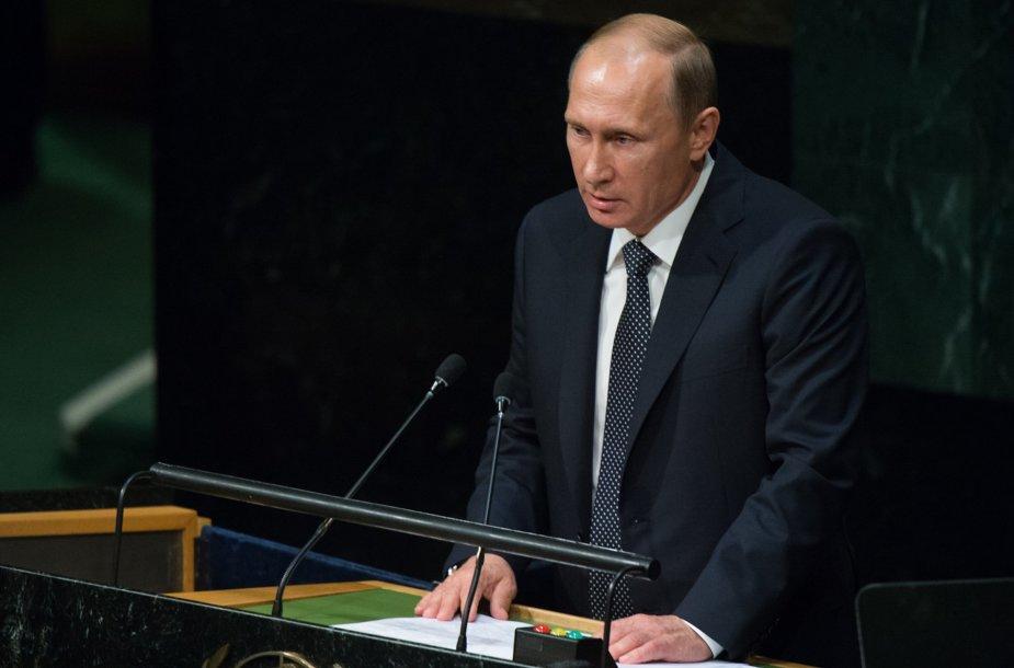 Vladimiras Putinas Jungtinių Tautų tribūnoje