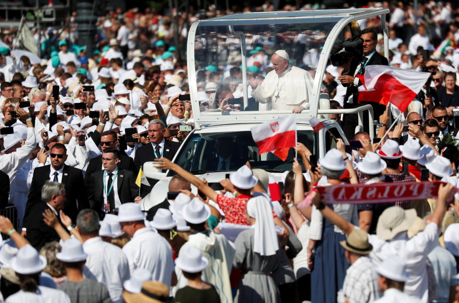 Popiežius Pranciškus Vengrijoje