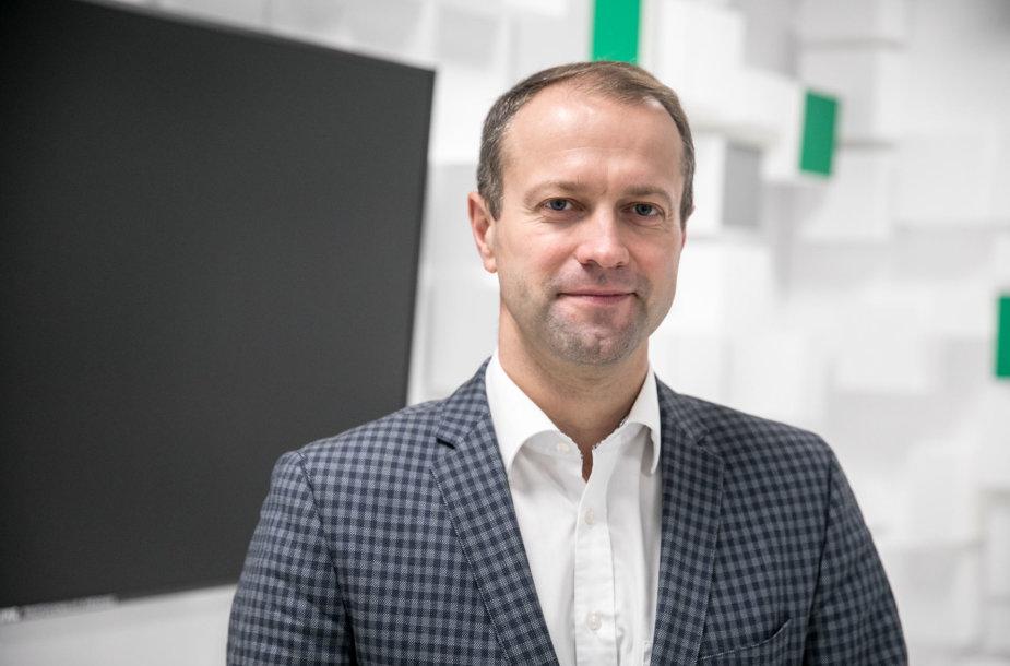 ISM Vadybos ir ekonomikos universiteto rektorius Dalius Misiūnas