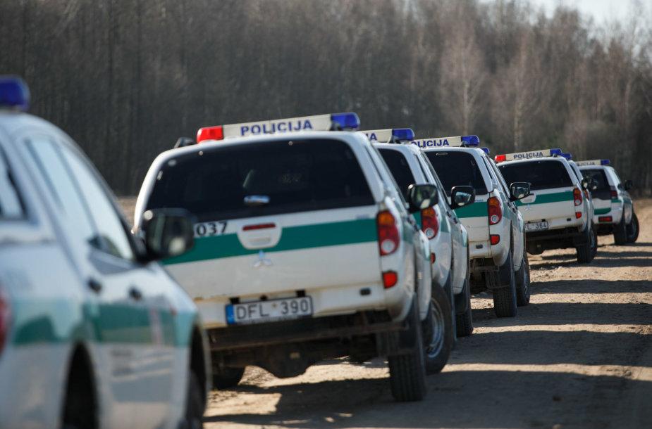 Gausios VST ir policijos pajėgos ieško įtariamojo Egidijaus Anupraičio