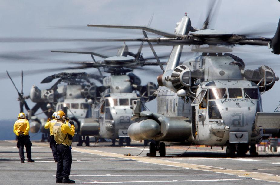 """""""CH-53 Sea Super Stallion"""" sraigtasparniai"""