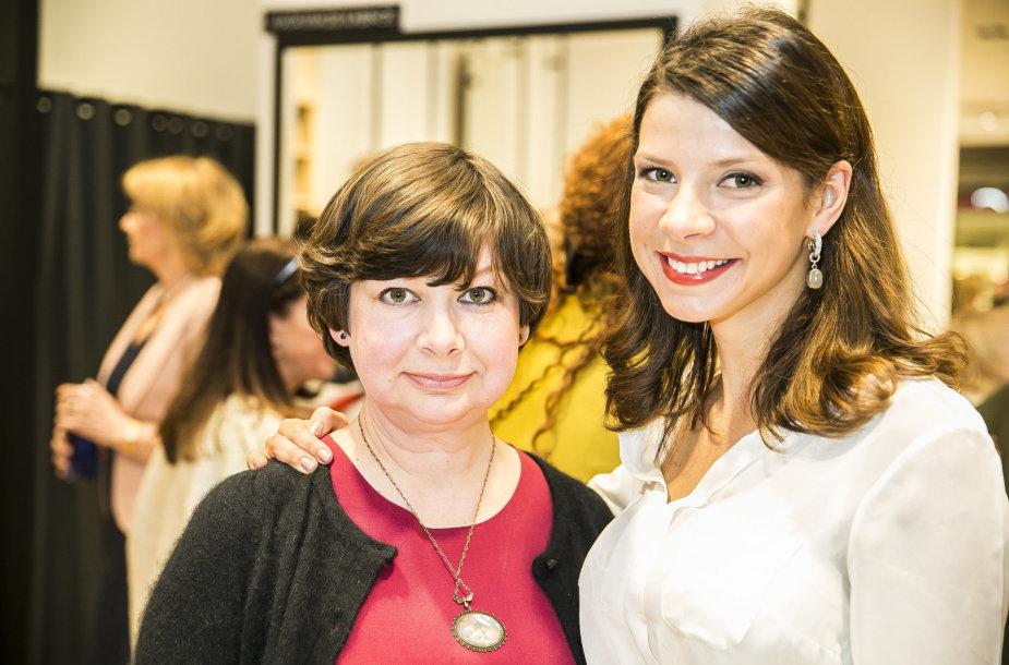 Karolina Liukaitytė su mama