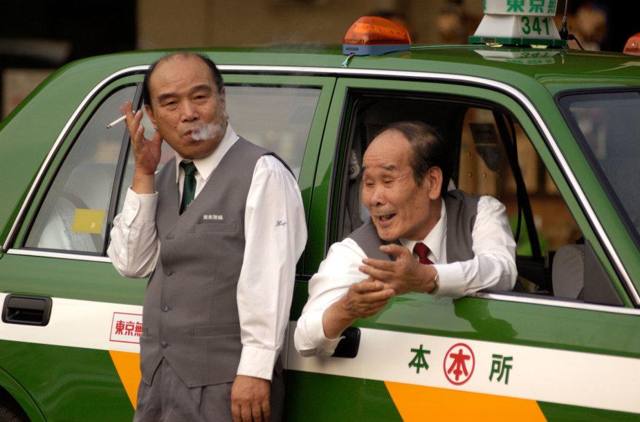 Japonijos vairuotojai