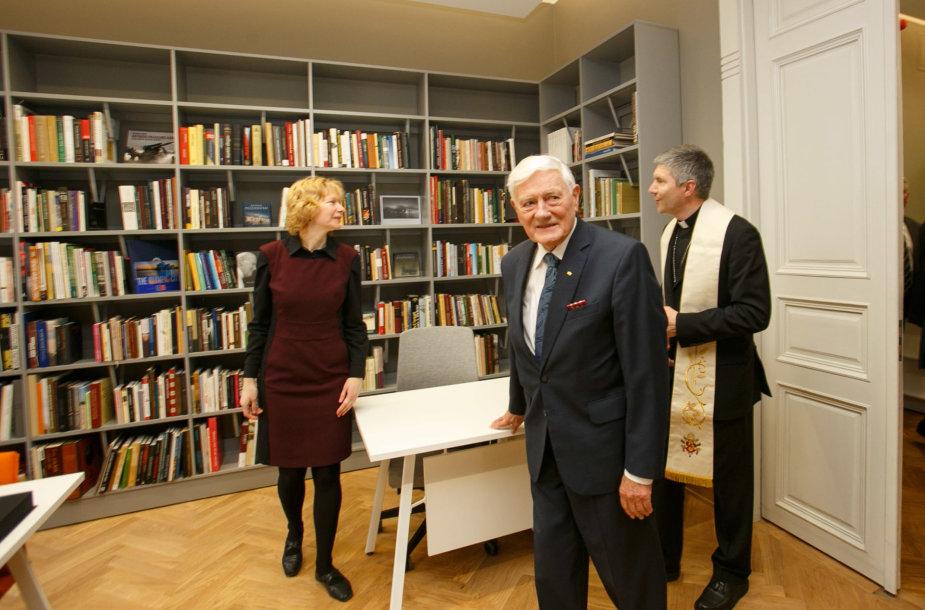 Bibliotekos-muziejaus atidaryme