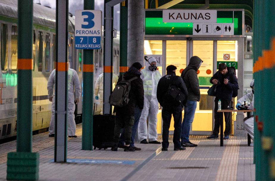 Į Kauną atvyko traukinys iš Vokietijos