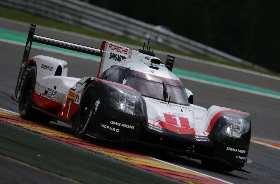 WEC lenktynės Spa trasoje