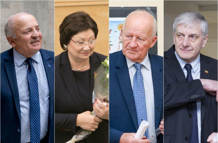 """""""Tvarkiečių"""" frakciją paliko V.Kamblevičius, O.Valiukevičiūtė, J.Imbrasas ir A.Dumbrava"""