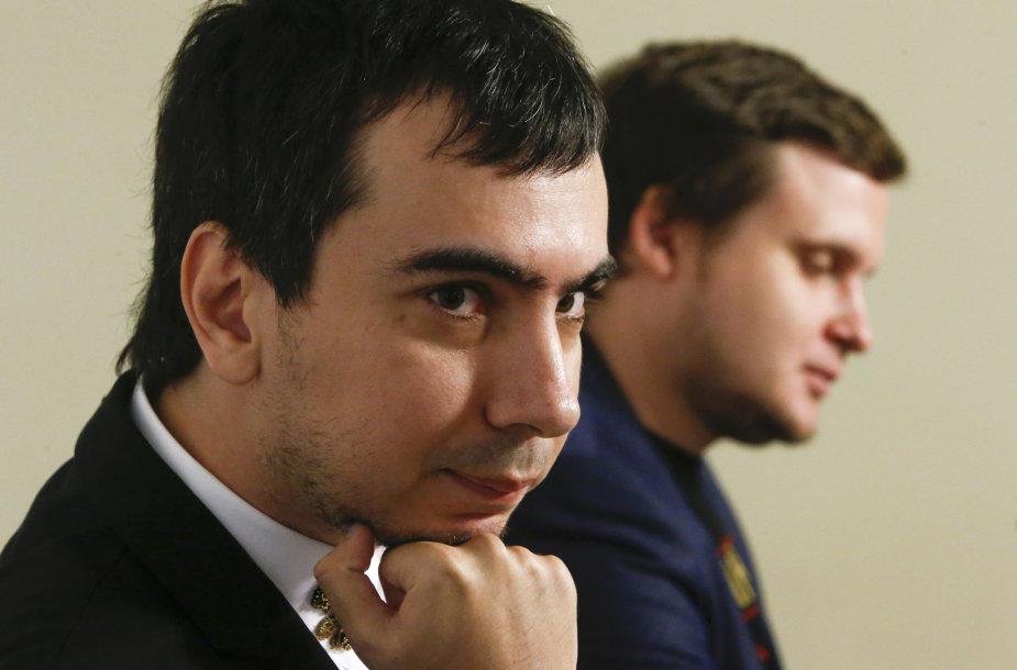 Vladimiras Kuznecovas ir Aleksejus Stoliarovas
