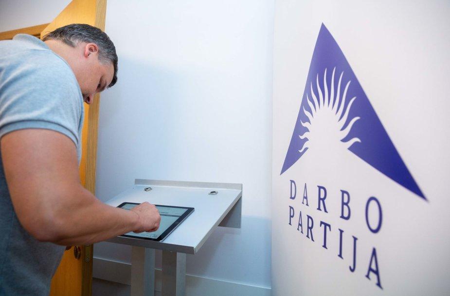 Darbo partija laukia Europos parlamento rinkimų rezultatų