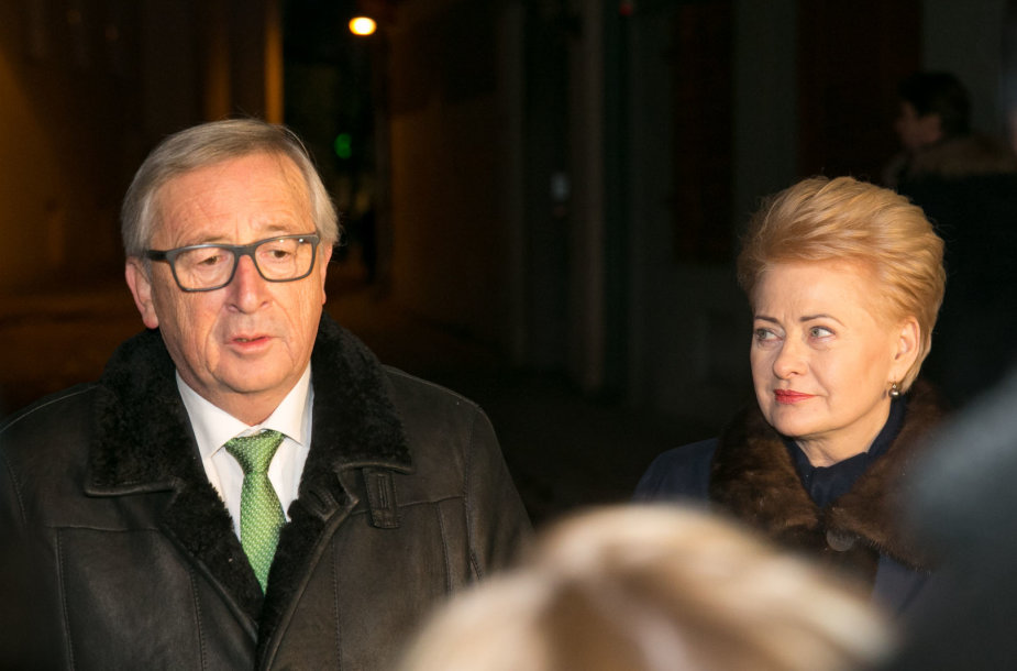 Jeanas-Claude'as Junckeris ir Dalia Grybauskaitė