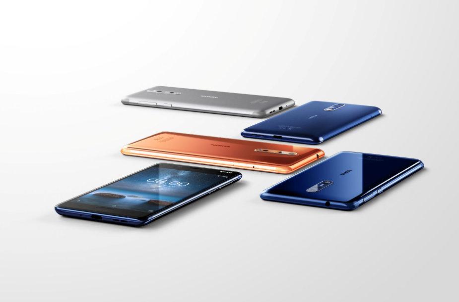 "Naujieji ""Nokia 8"" telefonai"