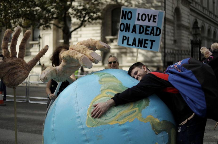 """Extinction Rebellion"" protestas Londone"