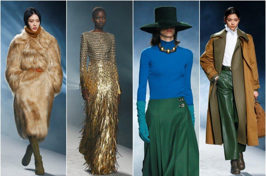 """""""Alberta Ferretti"""" 2021–2022 m. rudens ir žiemos kolekcijos modeliai"""