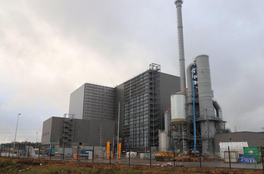 Kauno kogeneracinė jėgainė įsikūrusi Kauno LEZ