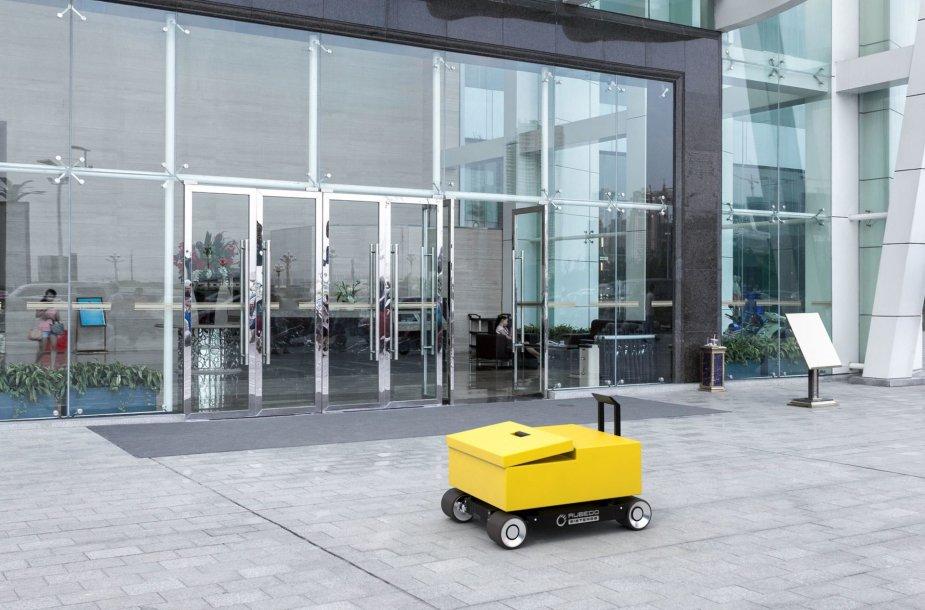 Autonominis mobilus prietaisas smulkių krovinių gabenimui