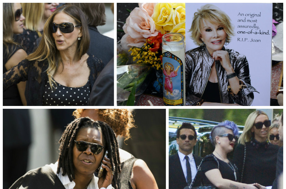 Joan Rivers laidotuvės