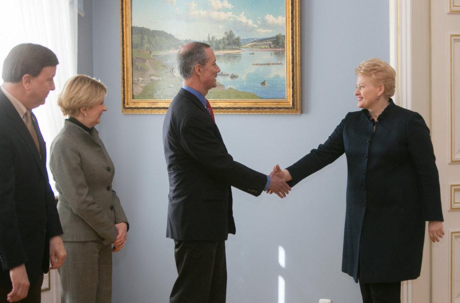 Makas Tornberis ir Dalia Grybauskaitė