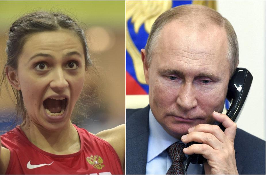 Marija Lasickienė ir Vladimiras Putinas