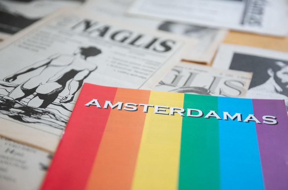 """Pirmieji Lietuvos LGBT bendruomenės žurnalai - """"Amsterdamas"""" ir """"Naglis"""""""