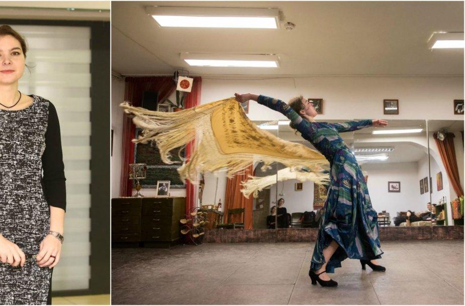 Kauno teisėjos aistra - emocingas flamenko šokis