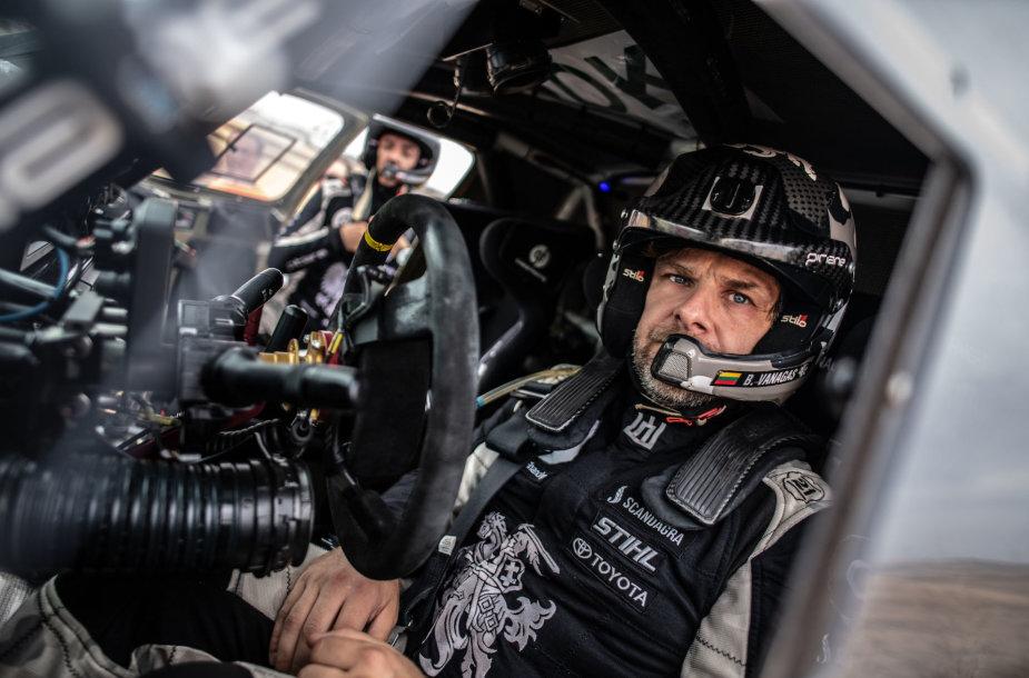 Benediktas Vanagas ir Sebastianas Rozwadowskis lenktynes Ispanijoje baigė anksčiau
